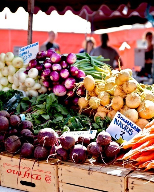 The Simple Pleasures Of A Farmers Market