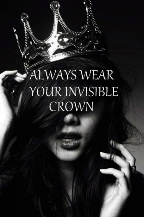 viaPinterest Lauren Woods Love This Board Revel Wisdom:<br />Confidence Wears The Crown