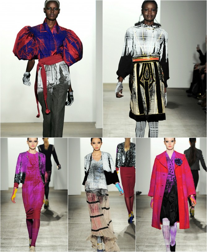 Libertine Runway Collage #1
