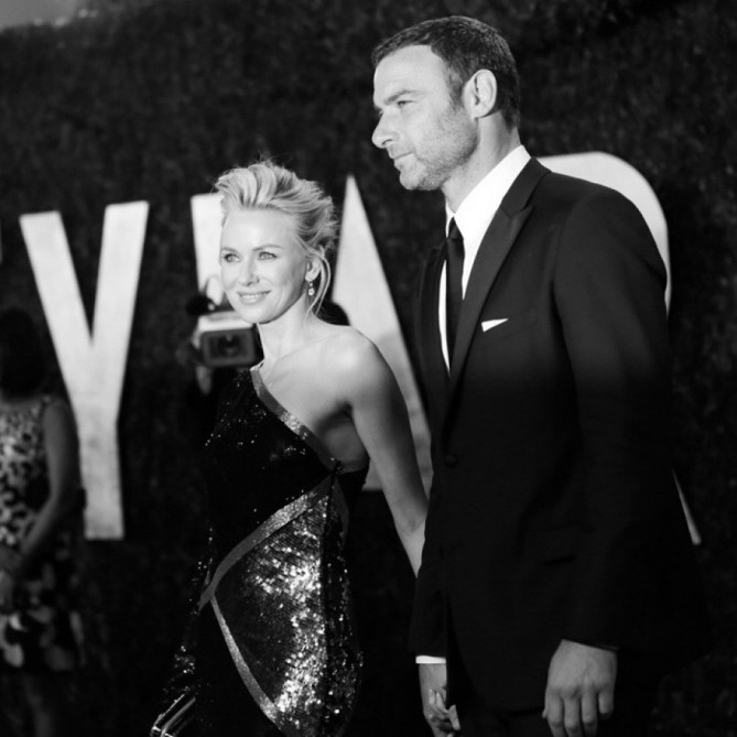 Naomi Watts & Liev Schreiber at VF Oscar Party 2013