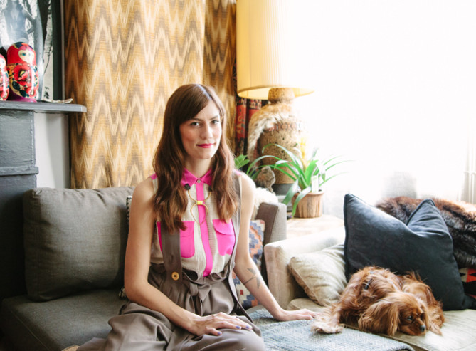 The Glorious Home Of Designer Gretchen Jones