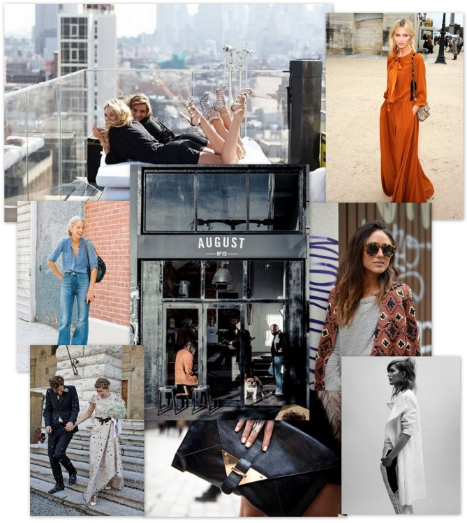 Modern Glamour Collage