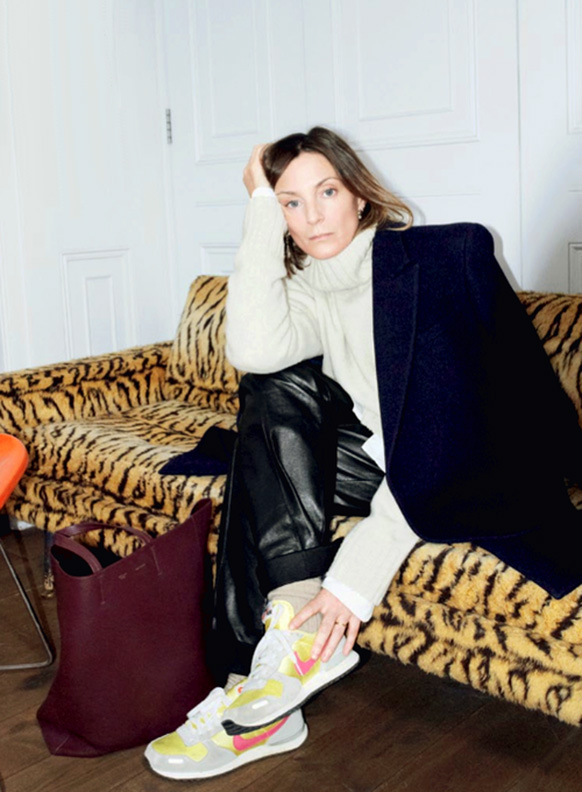 Phoebe Philo In Sneakers