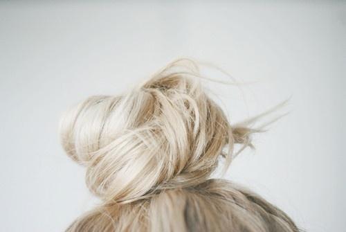 Blonde Bun 2