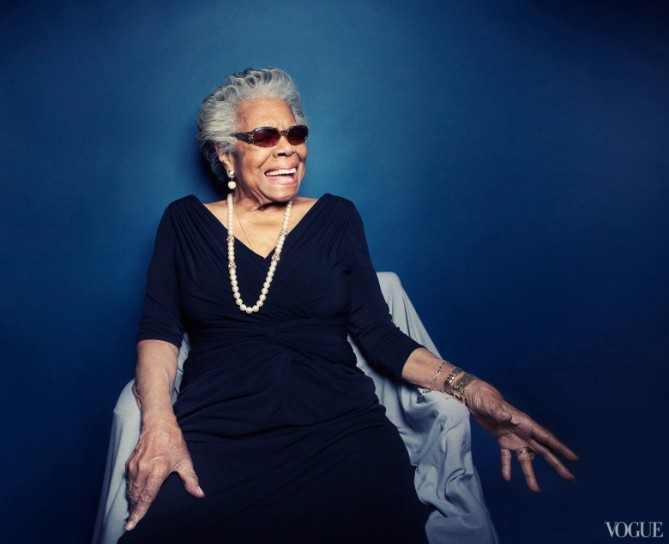 Maya Angelou for Cole Haan