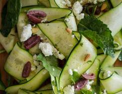 Summer Favorite: </br >Zucchini Mint Salad